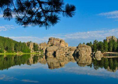 A Lake in Black Hills, South Dakota