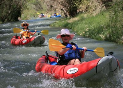 Kayakers on the Verde River